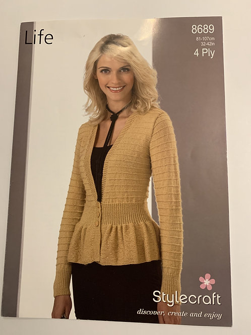 4ply Ladies Jacket Pattern