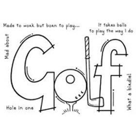 Golf - Clear Stamp
