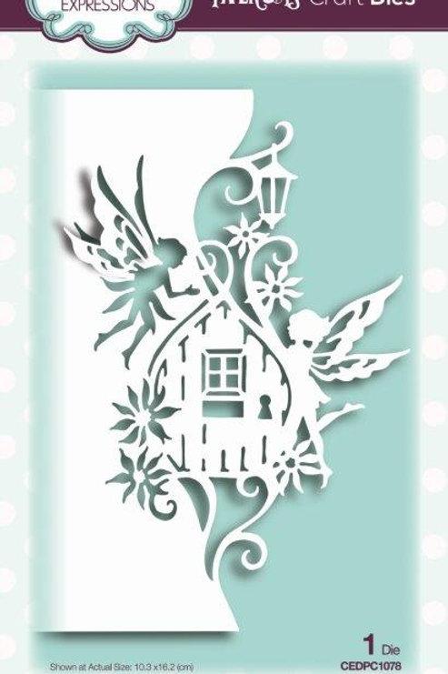 Paper Cuts Collection - Fairy Door  Edger