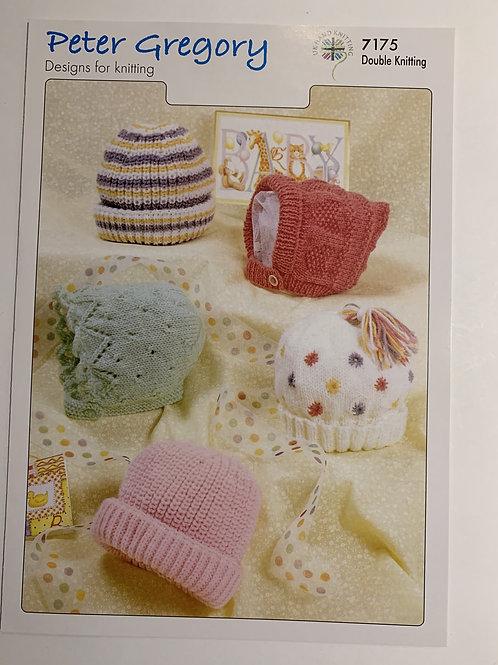 DK Baby Hat Pattern