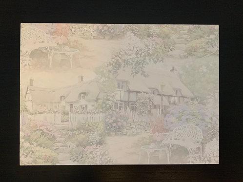 A4 Card- SALE - Cottage