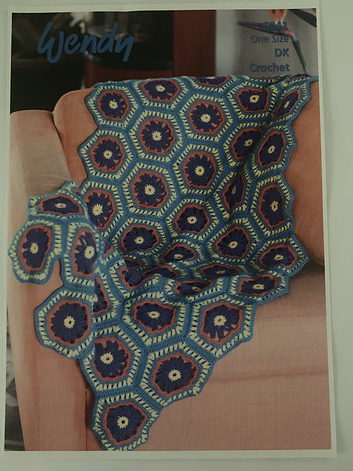 DK Blanket Crochet Pattern