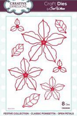 Open Poinsettia die set