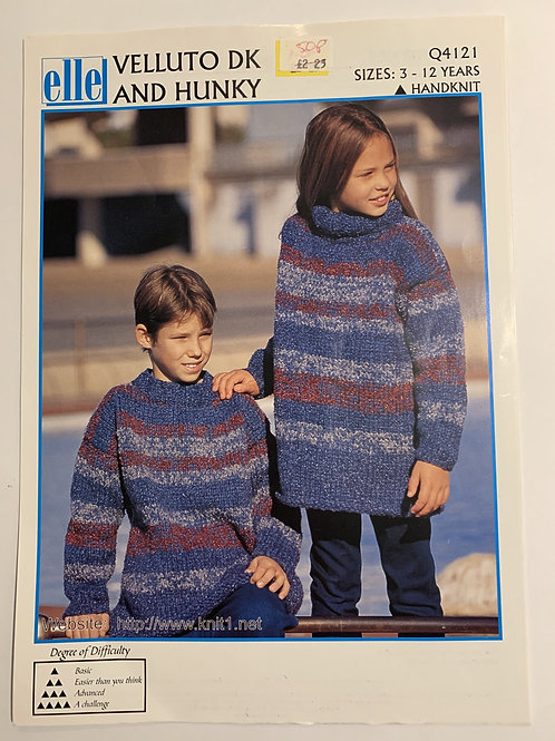DK Children's Sweater Pattern