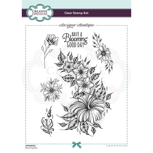 Designer Boutique - Clear Stamps - Blooming Day