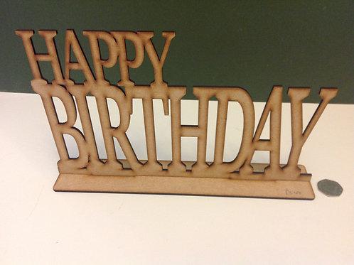 Mdf Happy Birthday