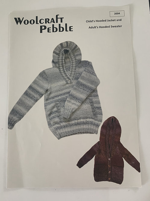 Chunky Children's Jacket & Adults Hooded Sweater Pattern