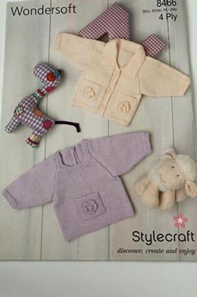 Baby 4ply Sweater & Cardigan Pattern