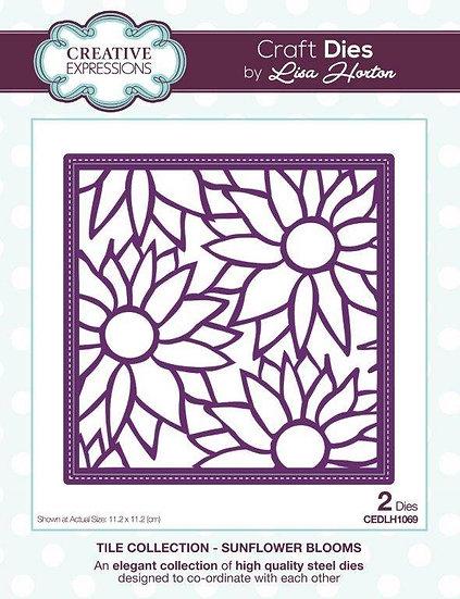 Sunflower Tile - Lisa Horton - Craft Die