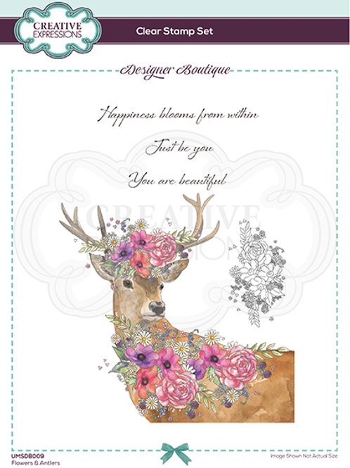 Designer Boutique - Clear Stamps - A5