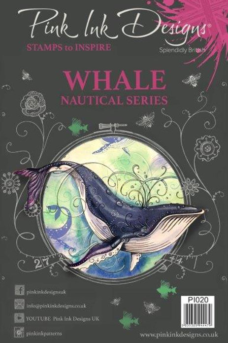 Pink ink - Whale