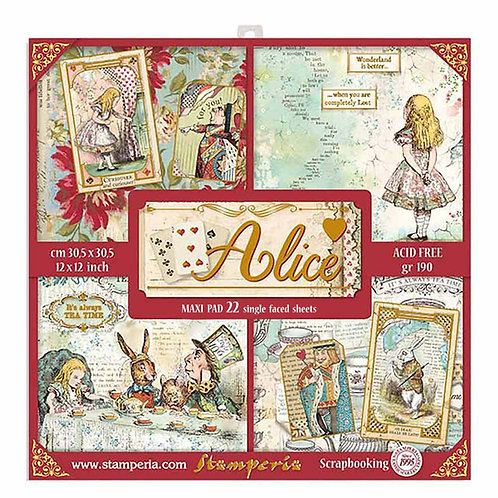"""12""""x12"""" Pad - Alice"""