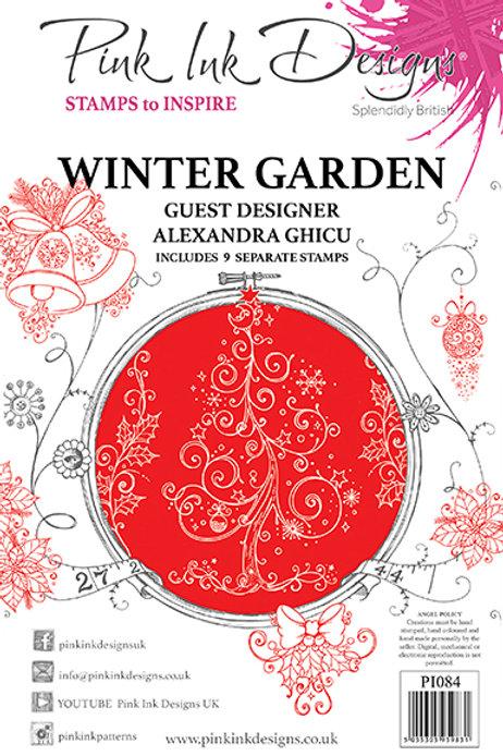 Pink ink - Winter Garden