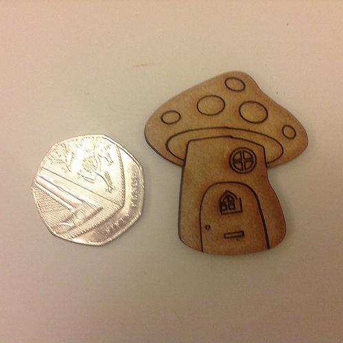 Mini mushroom mdf