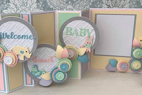 Instructions - Multi Fold  Baby Card