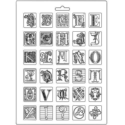A4 Mould - Alphabet
