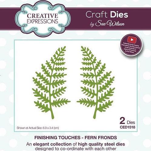Fern Fronds - Craft Die