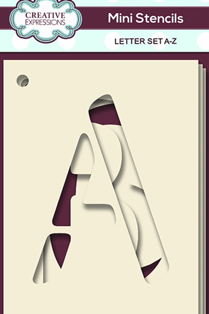 Alphabet set A-Z