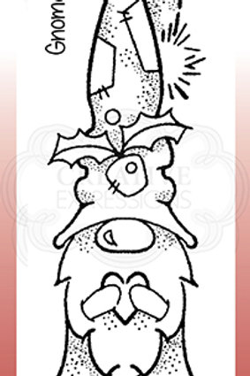 Woodware - Clear Stamp - Gnome Wishes