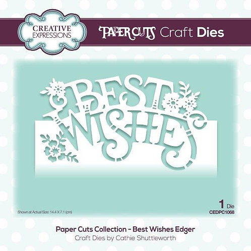 Paper Cuts Collection - Best Wishes