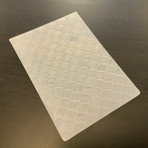 Embossing folder -A6 - Scales