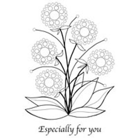 BUbble bloom - Lynell - Clear stamp