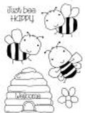 Bee - Clear Stamp