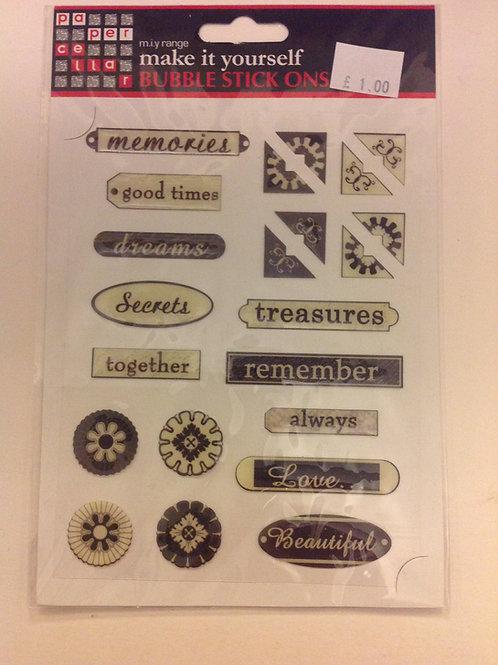Epoxy Stickers