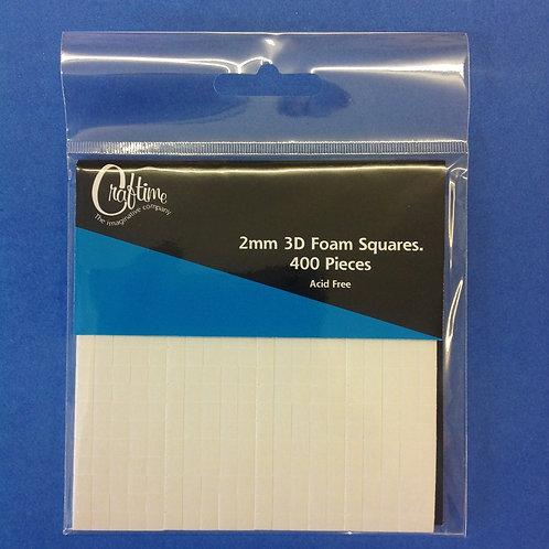 2mm Foam Pads - 400