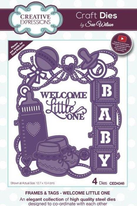 Newborn Baby frame die