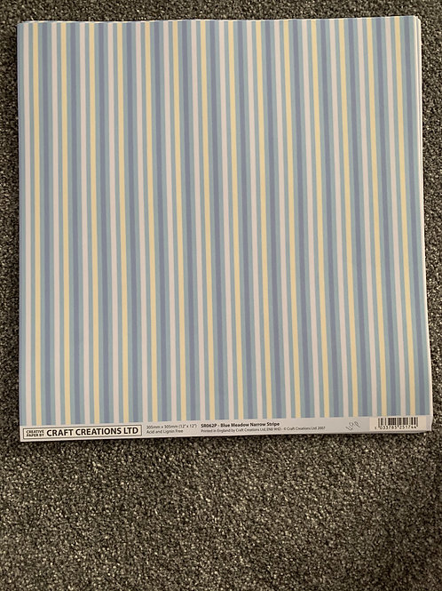 12 X 12 Craft Creations - Stripes