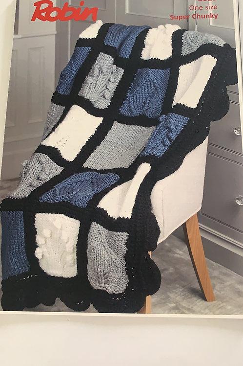 Super Chunky Blanket Pattern