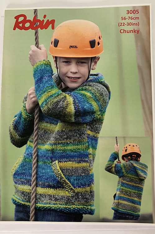 Chunky Children's Sweater Pattern