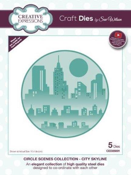 Sue Wilson - City Skyline Die