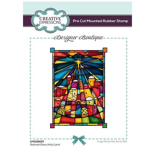 Designer Boutique - Holy Land - Rubber Mounted Stamp