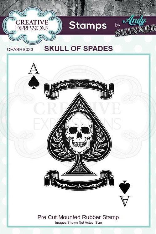 Skull Of Spades