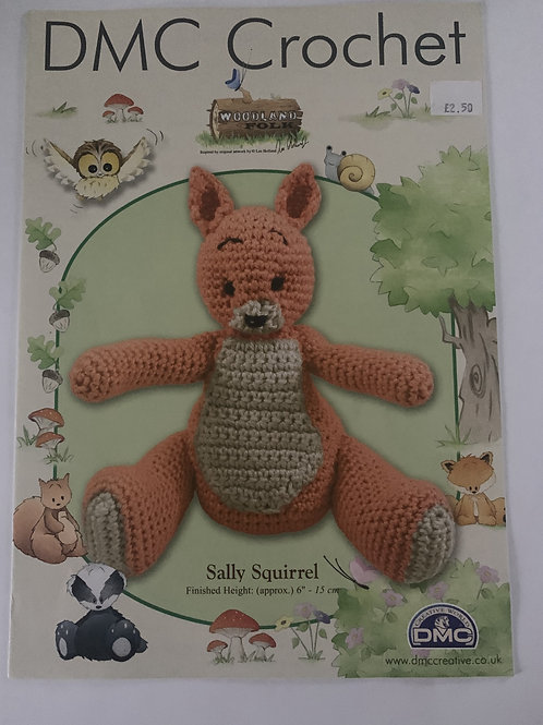 DMC Squirrel Crochet Pattern