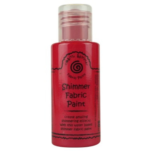 Strawberry Fire  - Shimmer - Fabric Paint