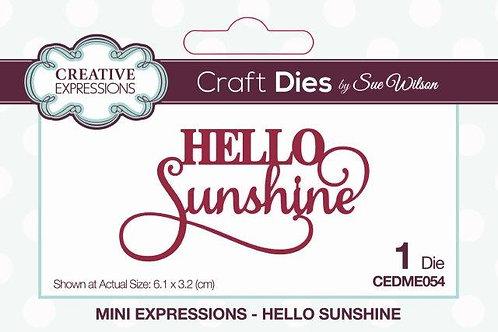 Sue Wilson - Hello Sunshine
