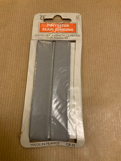 Seam binding - Grey