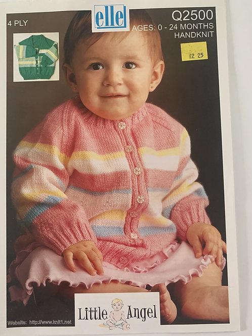 4ply Baby Cardigan Pattern