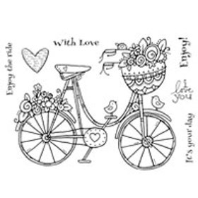 Bicycle - Clear Stamp