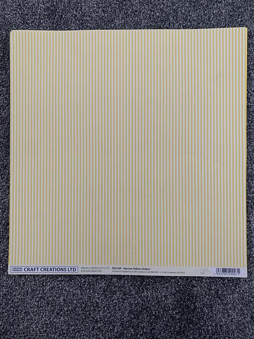 12 X 12 - Craft Creations - Stripes