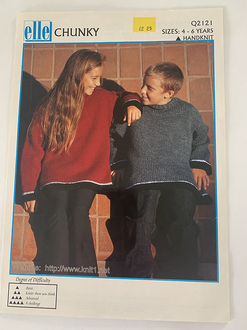 Chunky Children's Sweater Pattern
