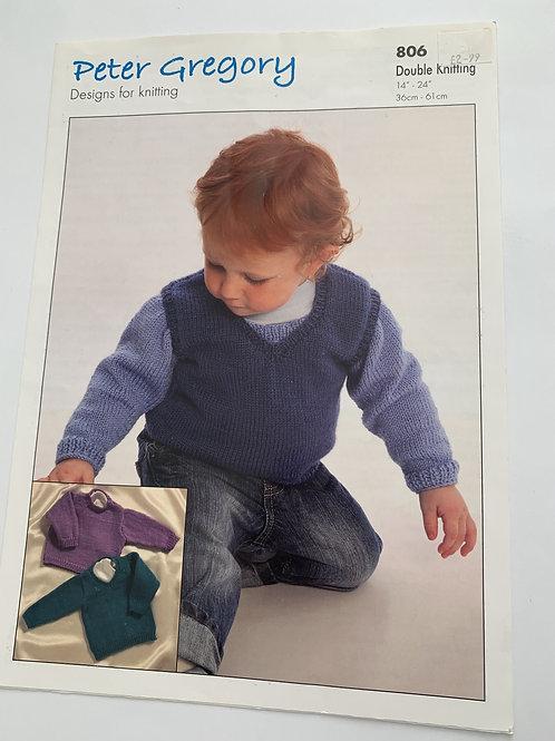 Baby DK Sweaters Pattern