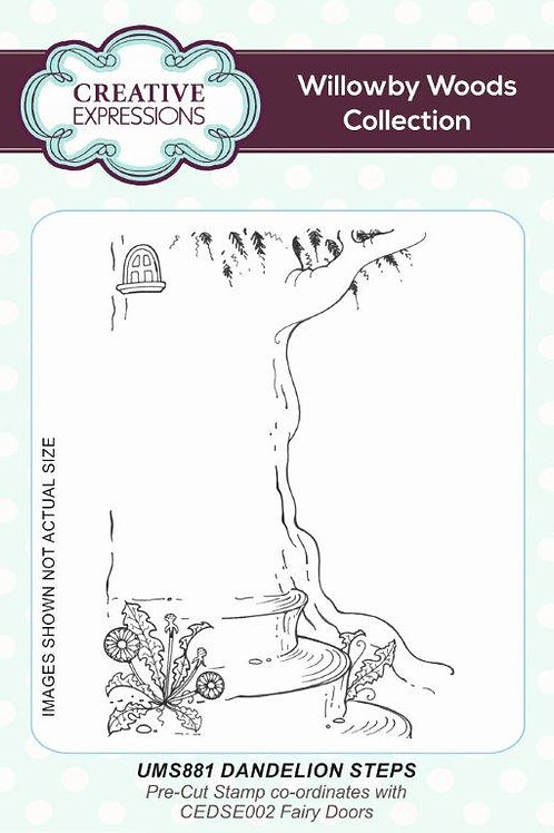 Rubber Mounted Stamp -Tree
