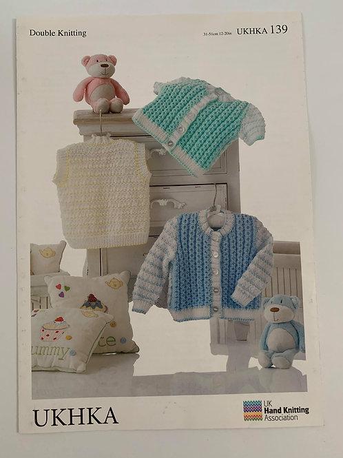Baby DK Cardigan Pattern