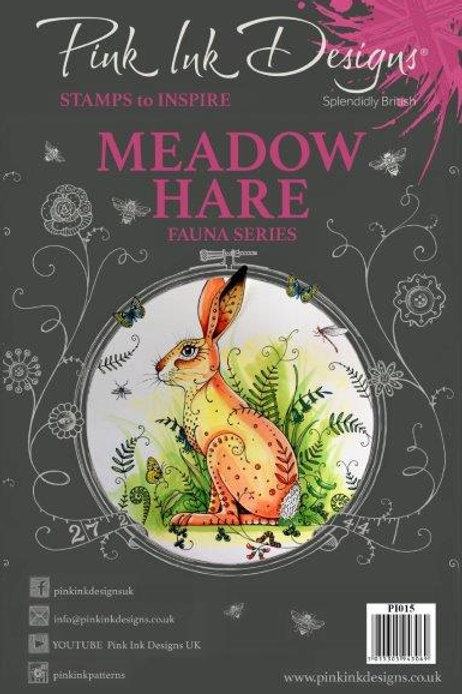 Pink ink - Meadow Hare