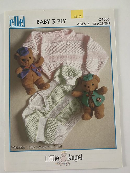 3ply Baby Sweater Pattern