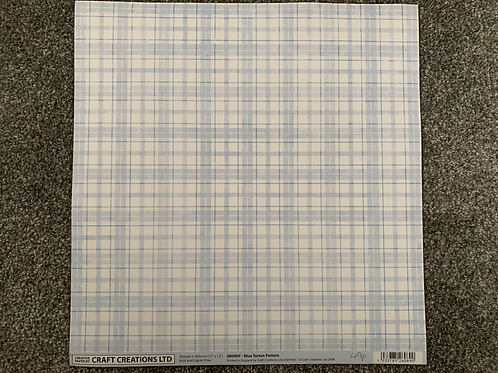 12 X 12 - Craft Creations - Gingham